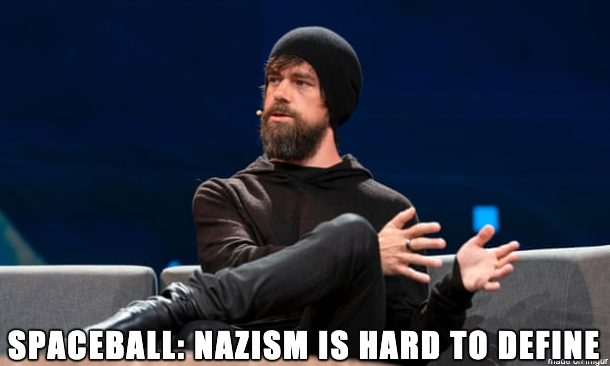 Spaceball: Nazism is hard to define.